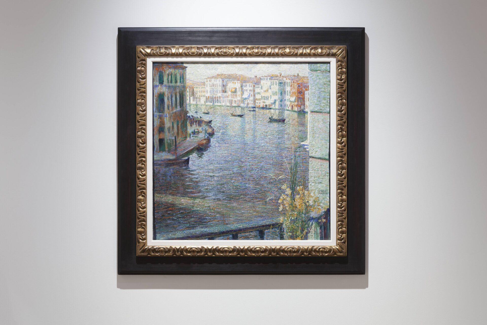 Umberto Boccioni, The Grand Canal in Venice, 1907